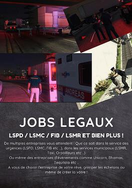 JOBS LEGAuX