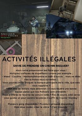 activités illégales