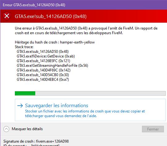 Erreur GTA5.exe!sub_14126AD50 (0x48) 22_04_2021 15_42_48